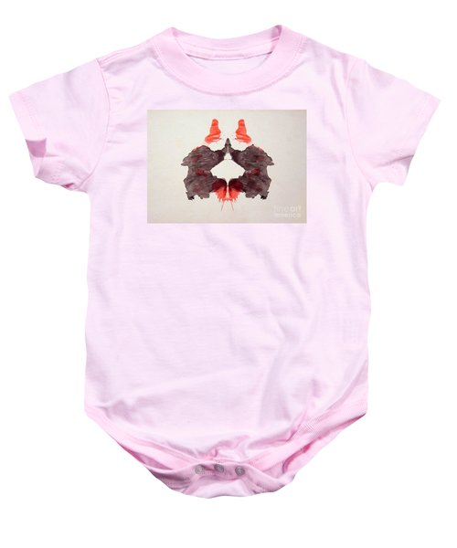 Rorschach Test Card No. 2 Baby Onesie