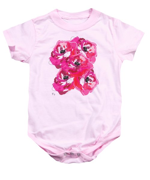Rose Abundance Baby Onesie