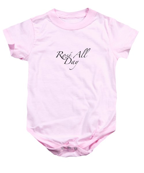 Rose All Day Baby Onesie