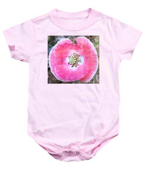 Rose Marble Baby Onesie