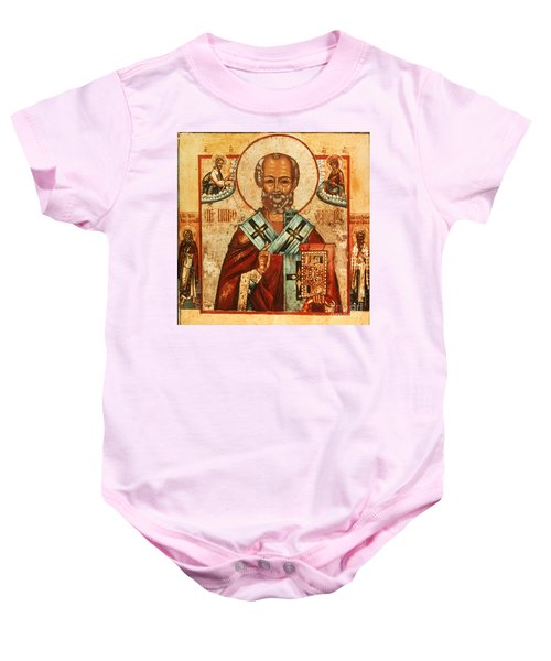 Saint Nicholas Baby Onesie