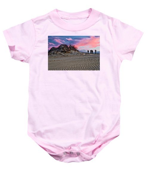 Sand Dunes Of Kitty Hawk Baby Onesie