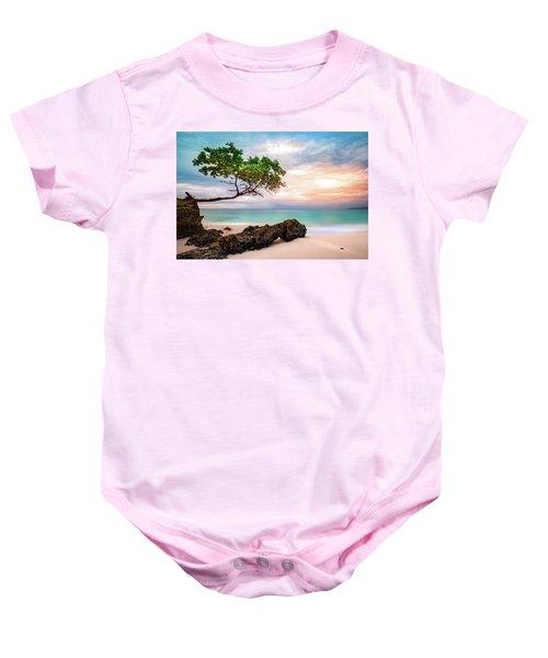 Seagrape Tree Baby Onesie