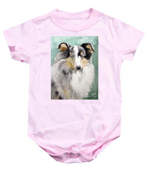 Shetland Sheep Dog Baby Onesie
