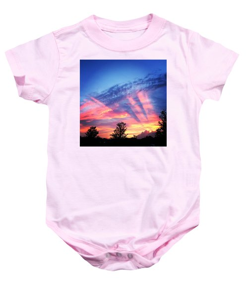 Showtime Sunset Baby Onesie