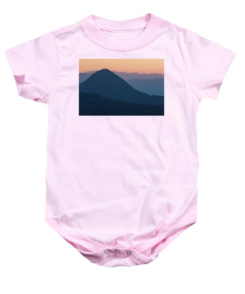 Silhouettes At Sunset, No. 2 Baby Onesie
