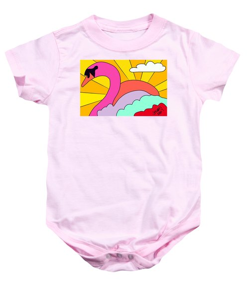 Simply Swan-sational Baby Onesie