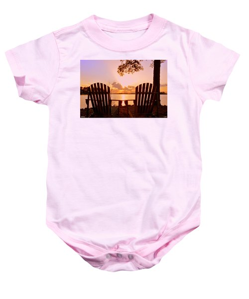 Sit Down And Relax Baby Onesie