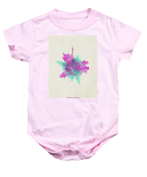 Skyround Art Of Moscow, Russia Baby Onesie