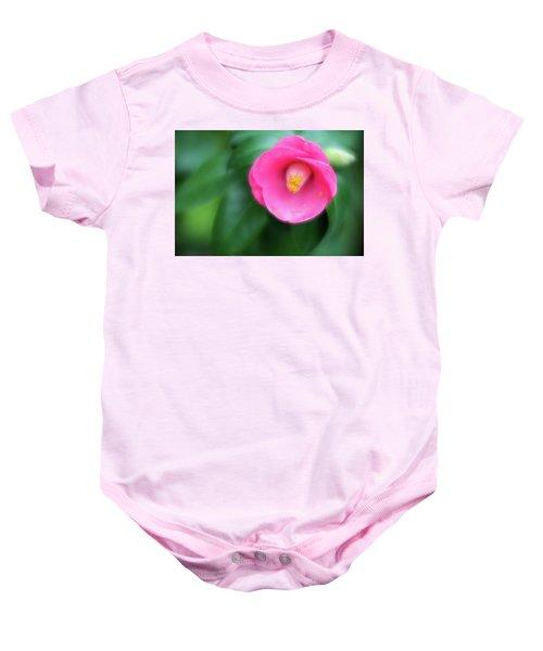 Soft Focus Flower 1 Baby Onesie