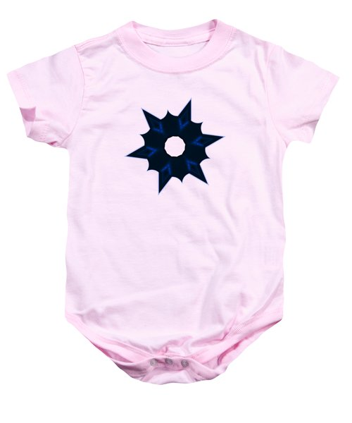 Star Record No. 3 Baby Onesie by Stephanie Brock
