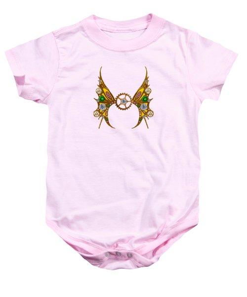 Steampunk Fairy Baby Onesie