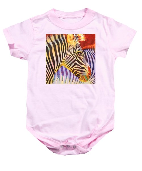 Stripes Baby Onesie
