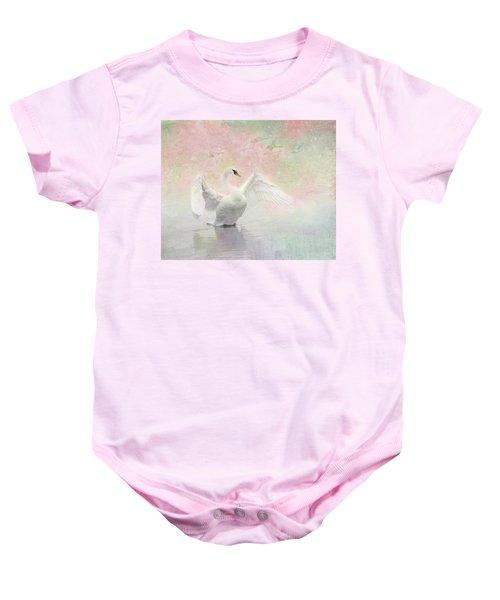 Swan Dream - Display Spring Pastel Colors Baby Onesie