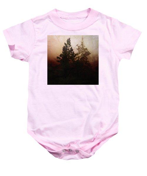 Tahoe Pines Baby Onesie