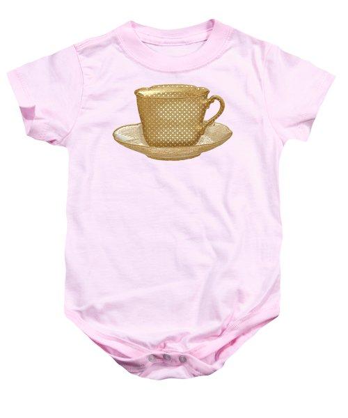 Teacup Garden Party 3 Baby Onesie