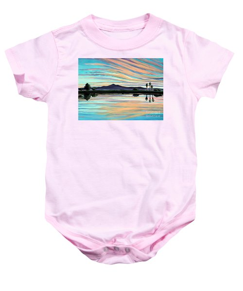 The Magic Is In The Water Baby Onesie