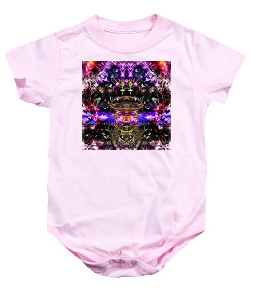 The Power Of Butterfly Lake Baby Onesie