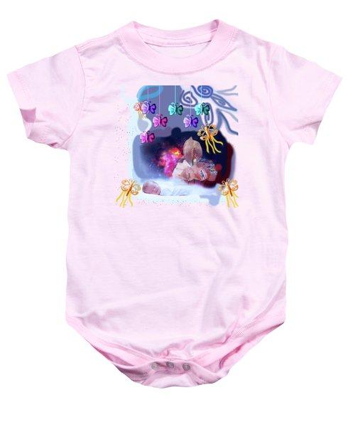 The Real Little Baby Dream Baby Onesie by Artist Nandika  Dutt