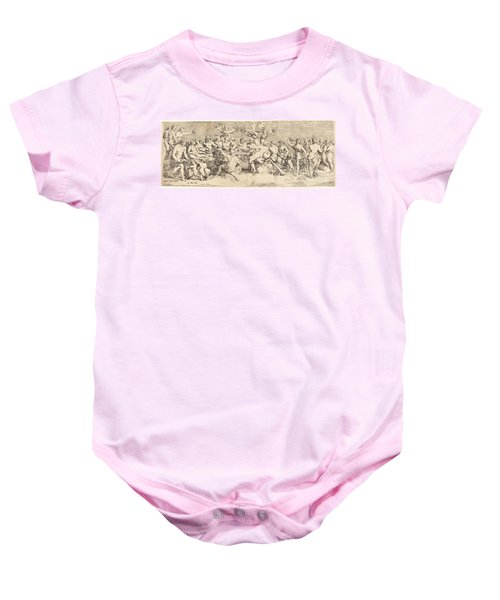 The Wedding Feast Of Cupid And Psyche Baby Onesie