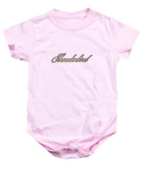 Thunderbird Badge Baby Onesie