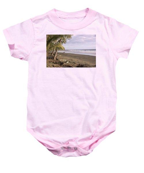 Tiskita Pacific Ocean Beach Baby Onesie