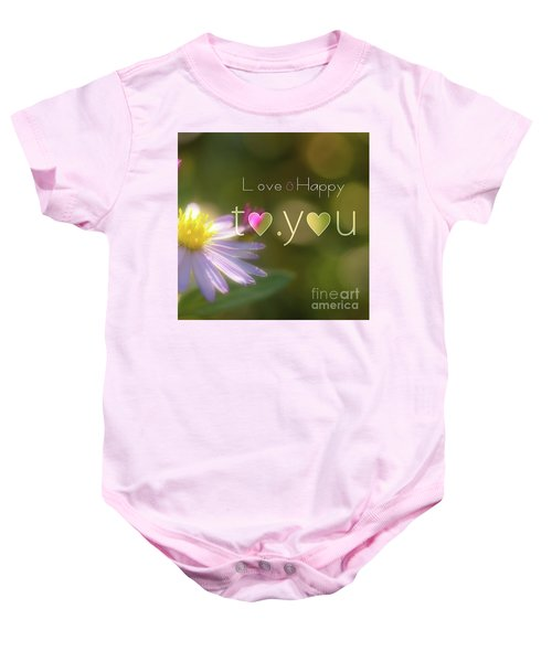 To You #003 Baby Onesie