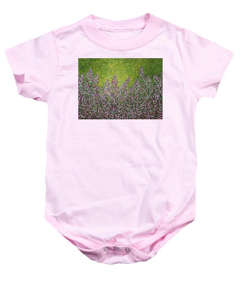 e971fdb0f Baby Onesie featuring the painting Tranquility by Gigi Housand