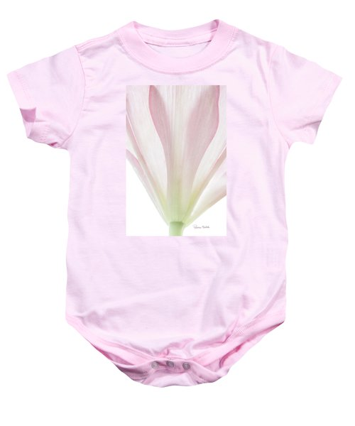 Transparent Lilly II Baby Onesie