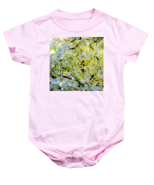 Trees And Leaves Baby Onesie
