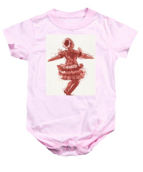 Trobriand Islands Dancer Baby Onesie