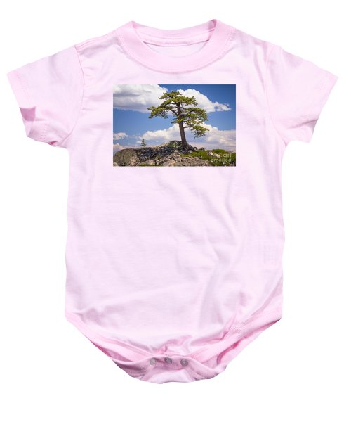 Baby Onesie featuring the photograph Truckee  by Vincent Bonafede
