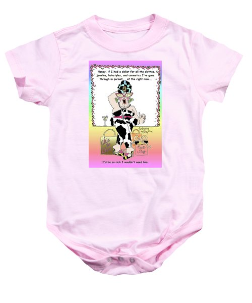 Turbanna By Talley - The Right Man  Baby Onesie