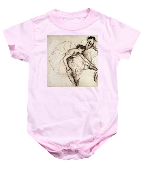 Two Dancers Resting Baby Onesie