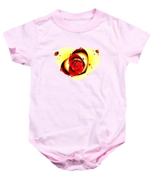 Valentine Rose Baby Onesie