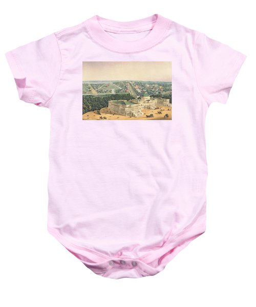 View Of Washington Dc Baby Onesie