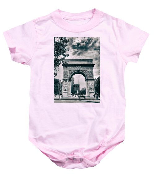 Washington Square Arch Baby Onesie