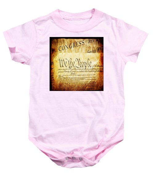 We The People Baby Onesie