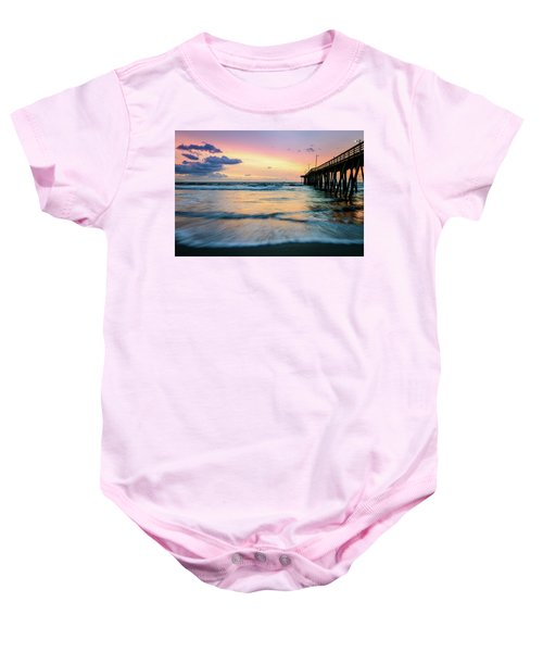When The Tides Return Baby Onesie