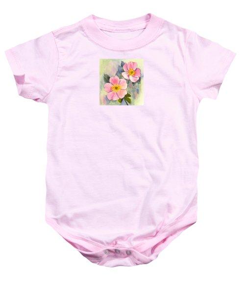Wild Roses - Glacier Baby Onesie