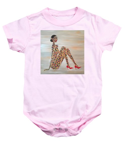 Woman Of Color Baby Onesie