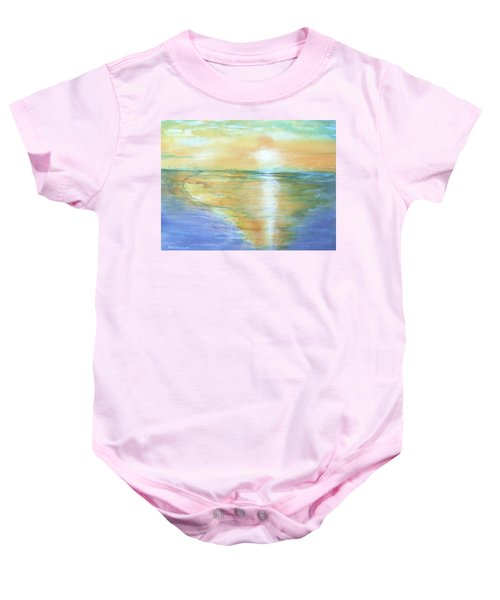 Wow Sunset Baby Onesie