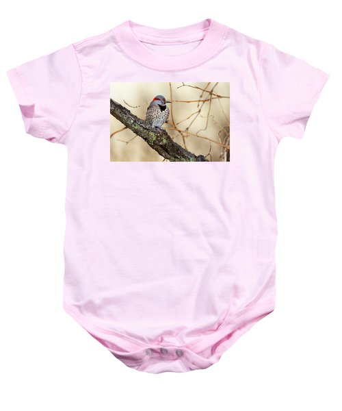 Yellow-shafted Northern Flicker Baby Onesie