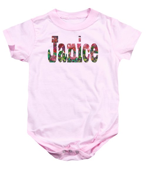 Janice Baby Onesie