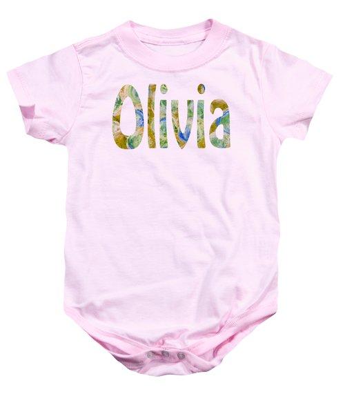 Olivia Baby Onesie