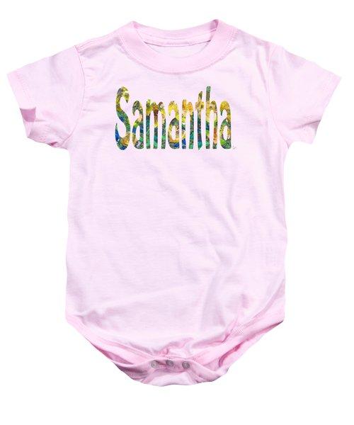 Samantha Baby Onesie