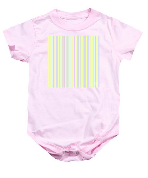 Abstract Fresh Color Lines Background - Dde595 Baby Onesie