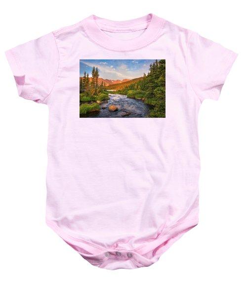 Alpenglow Creek Baby Onesie