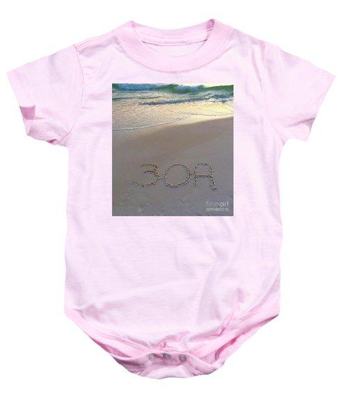 Beach Happy Baby Onesie