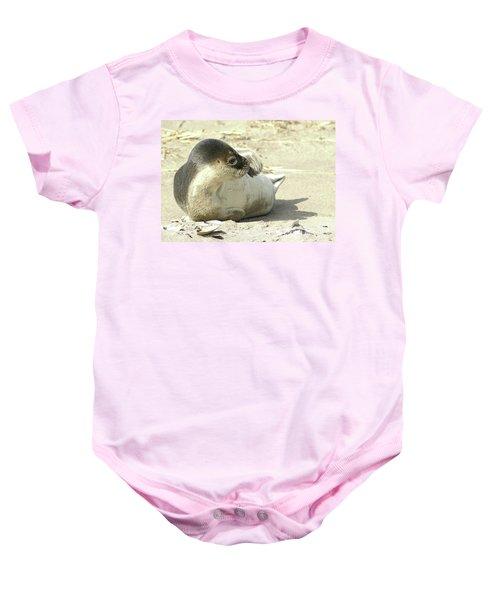Beach Seal Baby Onesie
